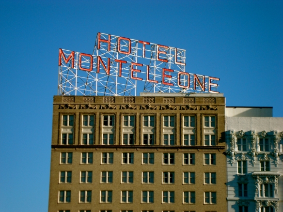 Hotel Monteleone Sign Day
