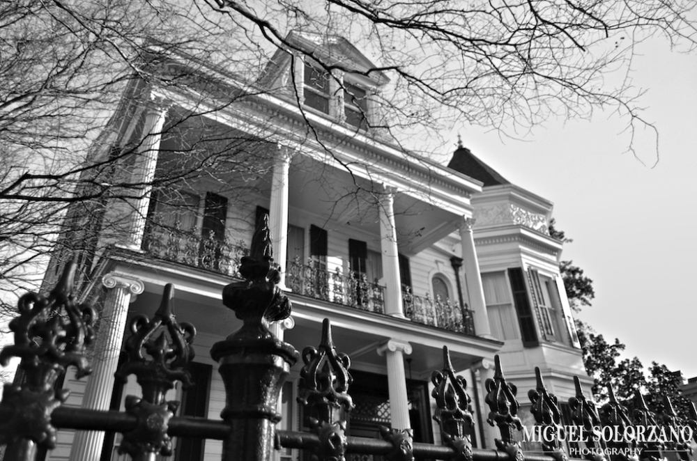 Lower Garden District Historic Homes, New Orleans, LA.