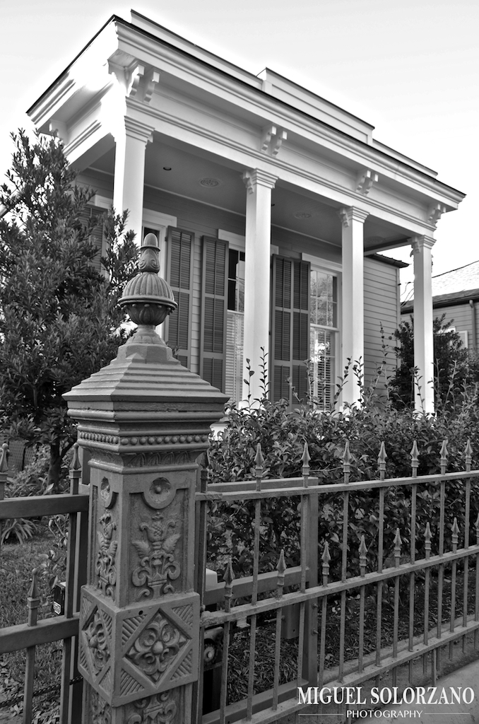 Garden District House New Orleans