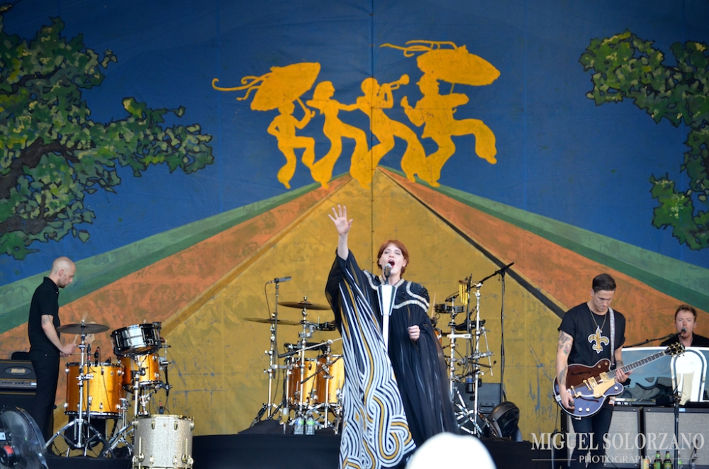 Florence + The Machine at Jazz Fest 2012