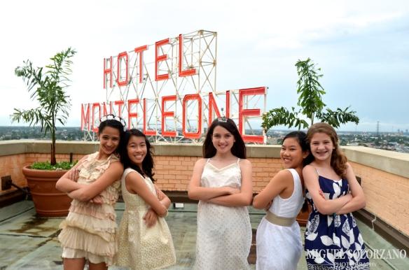 Hotel Monteleone Rooftop sign