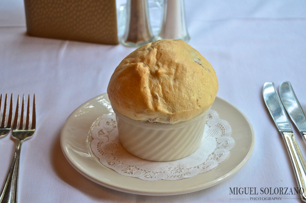 Bread Pudding Soufflé at Commander's Palace | Miguel Solorzano ...