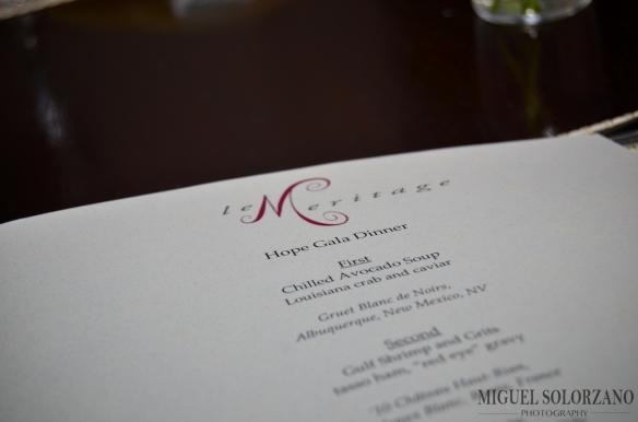 Hope Gala Dinner at Le Maritage
