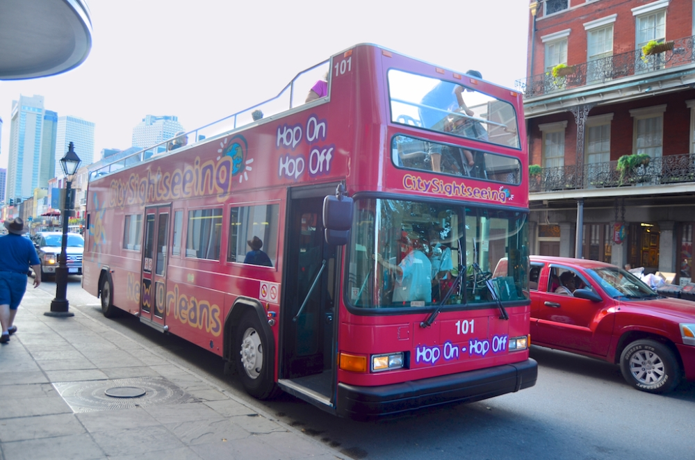 City Sightseeing New Orleans Hop on/Hop Off tour