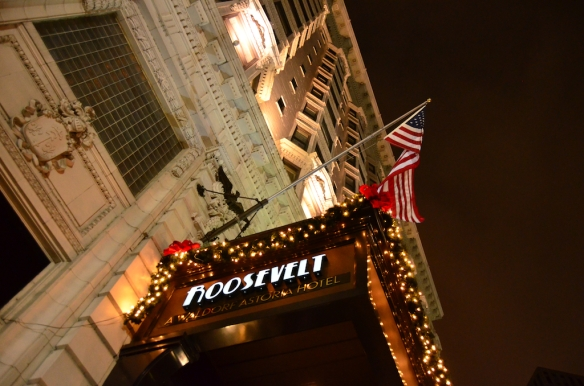 The Roosevelt Hotel New Orleans, Christmas 2012 Photography