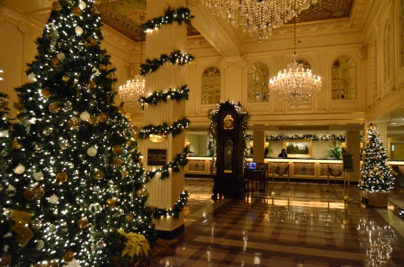 The Hotel Monteleone New Orleans, Christmas 2012 Photography