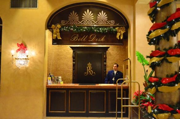 The Royal Sonesta Hotel New Orleans, Christmas 2012
