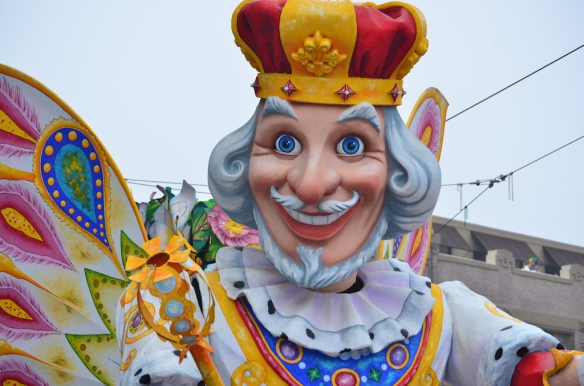 Happy Mardi Gras Day!  Krewe of Rex 2013 from the Hotel Modern.