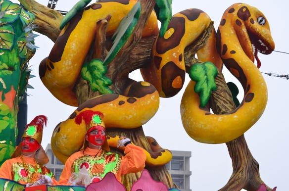 Krewe of Rex.  Mardi Gras Day 2013
