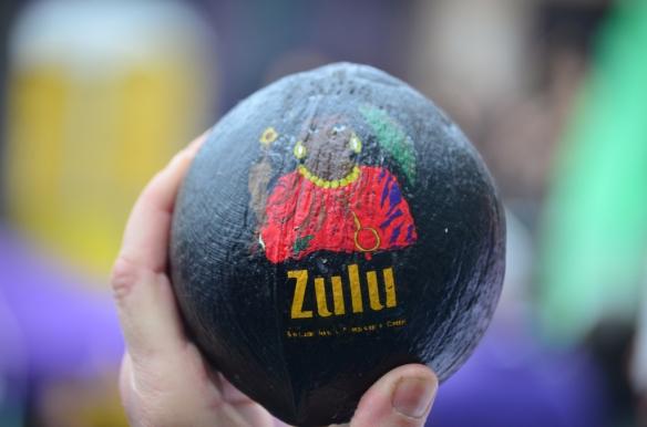 Happy Mardi Gras Day!  Krewe of Zulu 2013 from the Hotel Modern.