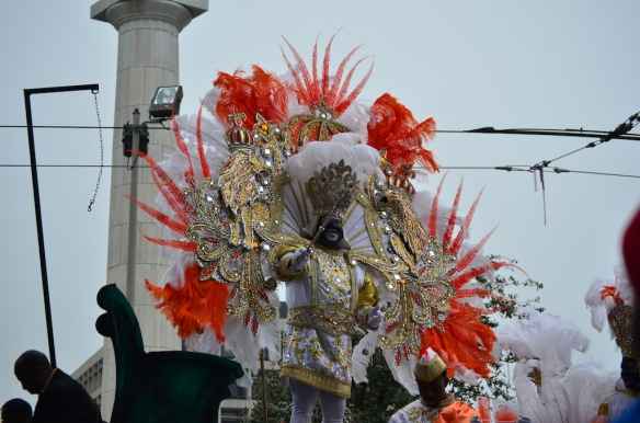 Happy Mardi Gras Day!  Krewe of Zulu 2013 from the Hotel Modern.