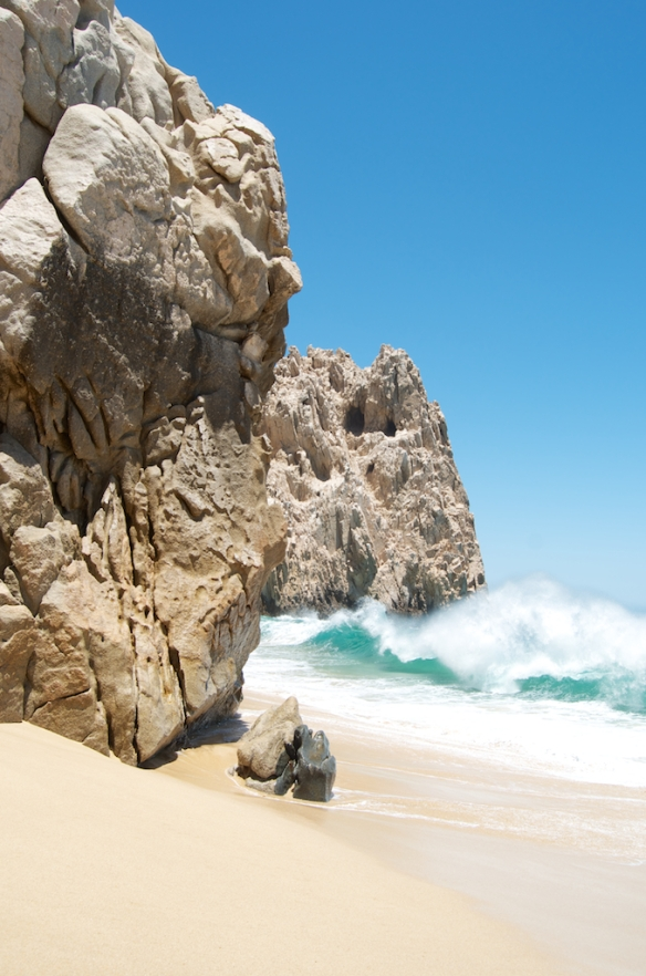 Cabo San Lucas, Mexico 2013.   Lover's Beach at Lands End.