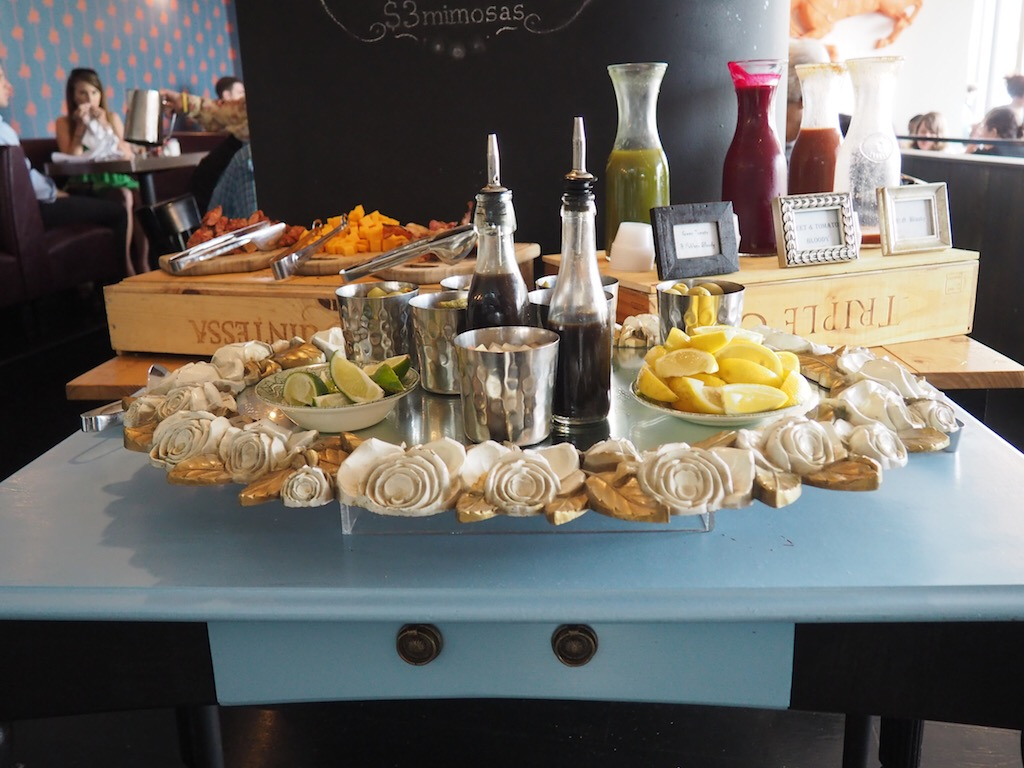 Weekend Bloody Mary Bar