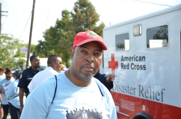 Super Service Challange - Lower 9th Ward, New Orleans, LA. August 29, 2015
