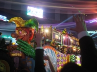 Krewe of Endymion Extravaganza at the Mercedes-Benz Superdome. 50th Year Anniversary. New Orleans, LA