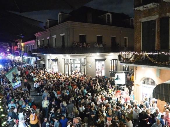 Mardi Gras 2017. Krewe du Vieux.  New Orleans.